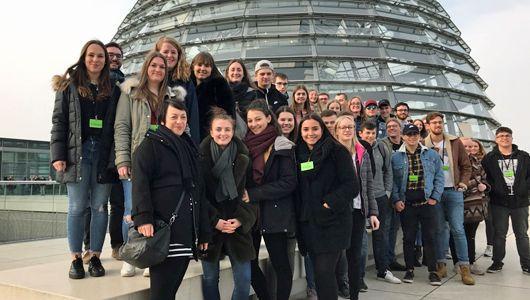 Studienfahrt der Klassen 12FS1 und 12FS2 nach Berlin