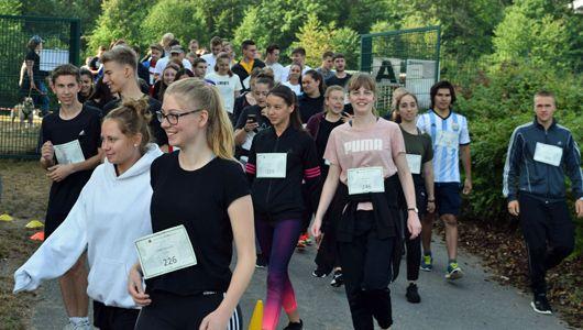 Spendenlauf zugunsten der Deutsche Knochenmarkspenderdatei